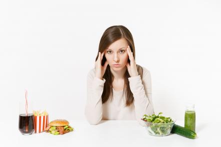 Ételek fejfájás