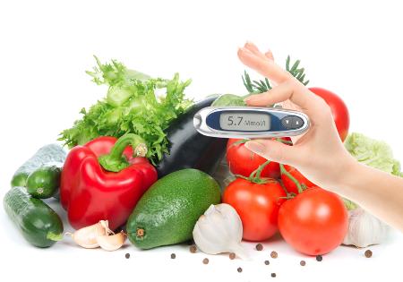 Cukorbeteg diétája