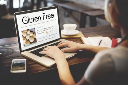 Coelikalia gluten free lisztérzékenység