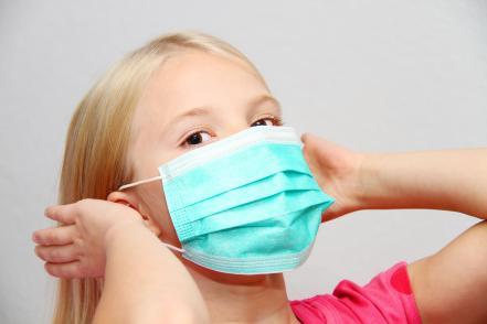 Gyerek Koronavírus maszk