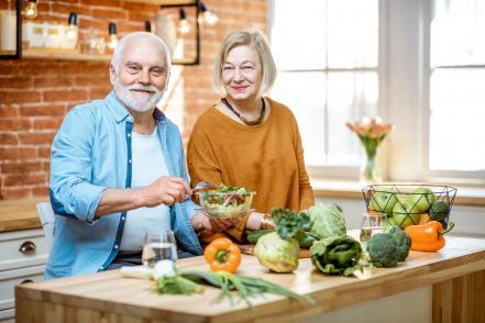 Időskor egészséges táplálkozás