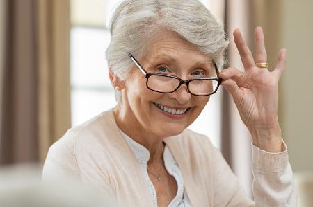 Idősek látásromlása