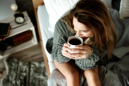 Kávé nő élet