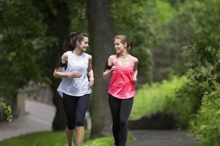 Rák ellen nők futnak