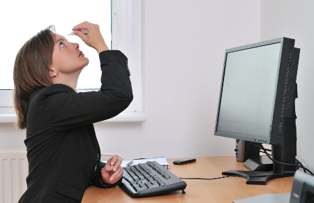Monitor szem