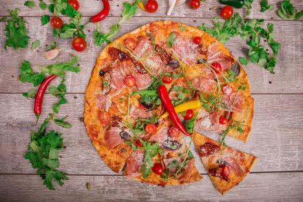 Pizza egészségesen