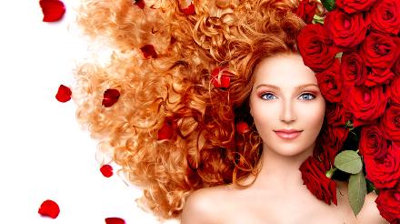 Rózsavirág haj