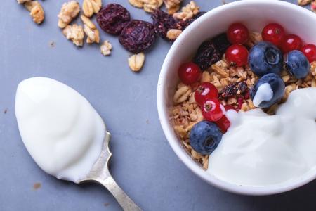 Reggeli joghurt müzli