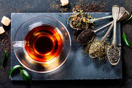 Tea gyógynövények kanalak