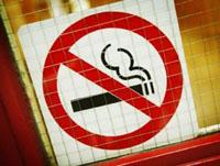 dohányzási tilalom szívroham