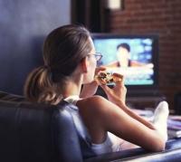 tv, evés, koncentrálás, fogyás