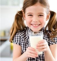 zsíros tej, gyerekek