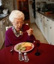 időskor, táplálkozás