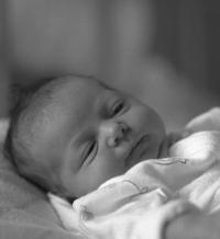 újszülött, légzési nehézség