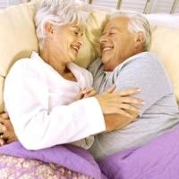 idős pár, szex
