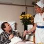 ápolónő, beteg, otthoni, ápolás, betegápolás